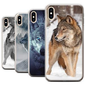 MAJESTIC WILD WOLF DOG PHONE CASE FOR GOOGLE HUAWEI IPHONE SAMSUNG GEL/TPU COVER