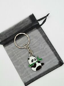 Cute Panda Keyring, Panda gifts, party bag fillers, Panda lover, valentine gift