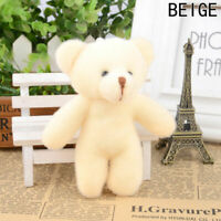 Small Mini Teddy Bear Stuffed Animal Doll Plush Soft Toy Kids Gift Necessa # Top