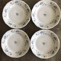 Johann Haviland Blue Garland Bread & Butter Plates Set Of 4