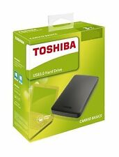 TOSHIBA 500GB External Hard Disk Canvio Basics (100% Original, 3 Year Warranty)