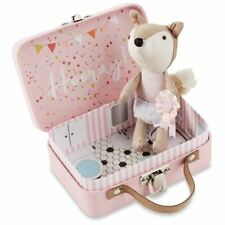 New Mud Pie Kids Hooray Girl Potty Fox-In-A-Box in Suitcase