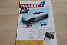 117181) Borbet B-1 Cup Prospekt 1991