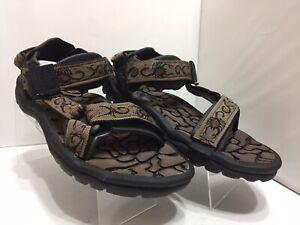 TEVA Brown Tan River Rubber Sole Hiking Sport Beach Sandals Shoes Men's Size 8