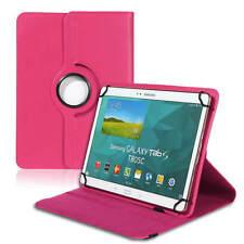 Tablet Tasche für 10 10.1 Zoll Universal Cover 360° Hülle Ständer Case Etui Pink