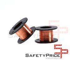 Bobina hilo cobre esmaltado 0.1 mm Soldar reparacion placas carrete SP