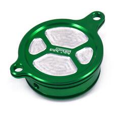 CNC Oil Filter Cover Caps For KX450F KXF450 06-15 KLX450R 08-15 Dirt Bike Enduro