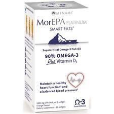 Minami MorEPA Platinum supercritical omega-3 fish oil 60 Softgels