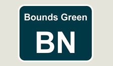 1x Bounds Green Train Depot Sticker/Decal 100 x 77mm