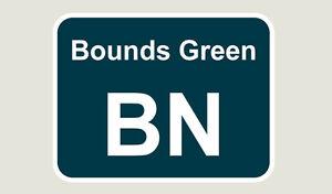1x Bounds Green Train Depot Sticker/Decal 100 x 77mm