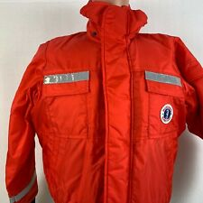 New listing New Mustang Survival Classic Bomber Jacket Solas Tape Floater Mj6214T1 Size S