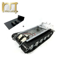 Mato 1/16 Kingtiger Metal Chassis Kit with Gearbox Road Wheels Tracks