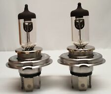 2Pcs H4 12V 60/55W Halogen Bulb High&Low beam Headlight Super White