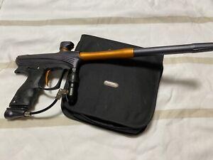 Proto RIZE Electronic Paintball Marker Gun Black Orange (With Case)