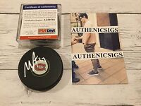 Max Pacioretty Autographed Montreal Canadiens Hockey Puck PSA DNA COA Signed b