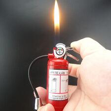 Novel Fire Extinguisher Shape Metal windproof Butane Gas Cigar Lighter Gifts #18