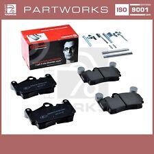 Plaquettes+Kit de Réparation Pour Porsche Cayenne 9PA 955 957 Brembo Arrière