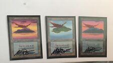 #SHI MTG Signed Artist Proof Beta Island x3  Mark Poole Painted Bird Altered CE