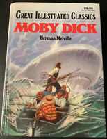 Great Illustrated Classics Ser.: Moby Dick by Herman Melville (2002, Hardcover)