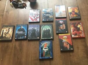 12 Dvds Inc Special Bonus Editions Matrix Oceans Bourne Karate Kid Spiderman