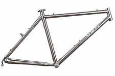 "Merlin Taiga Mountain Bike Frame 17.5in MEDIUM 26"" Titanium Cantilever"