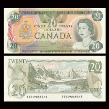 Canada 20 Dollars, 1979, P-93c, banknote, UNC