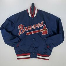 Starter Vintage Diamond Collection Atlanta Braves Starter Mens Jacket Large