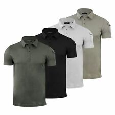 Brave Soul Joe Mens Polo T Shirt Plain Short Sleeve Collared Casual Top
