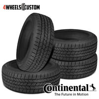 4 X New Continental Terrain Contact H/T 265/60R18 110T FR Tires