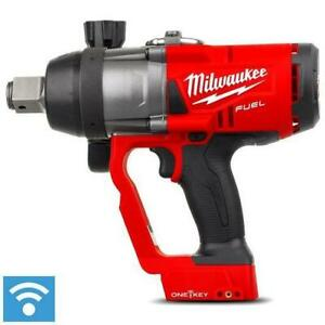 "Milwaukee  M18ONEFHIWF1-0 18V  Fuel ONE-KEY 1"" High Torque Impact Wrench"