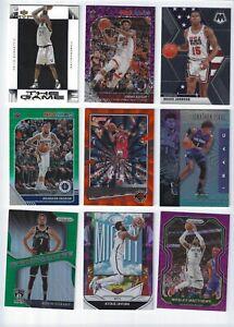 9 NBA Inserts/Paralells; Kevin Garnett, Jimmy Butler, Magic Johnson, Brandon Ing