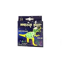 24 Glow In The Dark Dinosaurs Boys Girls Bedroom Ceiling Wall Art Night Stickers
