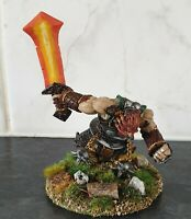 Painted Fire Giant Warrior Reaper Miniature For D&D, Frostgrave, RPG tabletop G.
