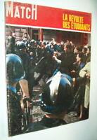 RÉVOLTE MAI 1968 QUARTIER LATIN SORBONNE BARRICADE CRS PARIS MATCH RUSS GASSMANN