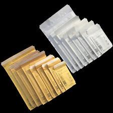 Luftpolster Versandtaschen A111 B12 C13 D14 E15 F16 G17 H18 J19 K20 CD Weiß Gold