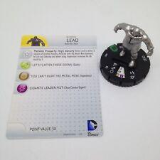 Heroclix World's Finest set Lead #026 Uncommon figure w/card!