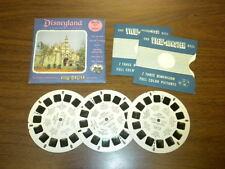 DISNEYLAND FANTASYLAND (854ABC) Viewmaster 3 reels PACKET SET