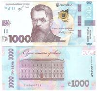 Ukraine - 1000 Hryven' 2019 UNC - Pick New, ausgegeben am 25.10.2019