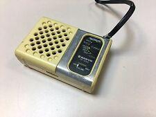 Vintage Transistor Pocket AM Radio Sanyo RP-1250 Solid State Boxed