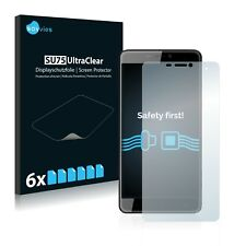 6x Savvies Screen Protector for Cubot Max Ultra Clear