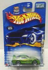 2003 Hot Wheels First Editions 24/Seven #24 Green
