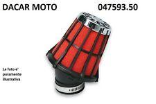 047593.50 RED FILTER E5 PHVA/PHBN MIKUNI NERO Dell'Orto PHBL  20 25 MALOSSI