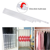 Firm Spring Loaded Extendable Telescopic Net Voile Tension Curtain Rail Pole UK