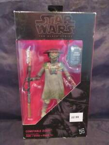 Star Wars The Black Series Constable Zuvio Unopened in the Box