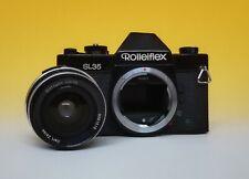 Carl Zeiss Distagon 35 F.2,8 + ROLLEIFLEX SL 35 Black Edition NON Funzionante