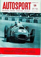 Autosport November 28th 1958 *Hawthorn Champion of the World