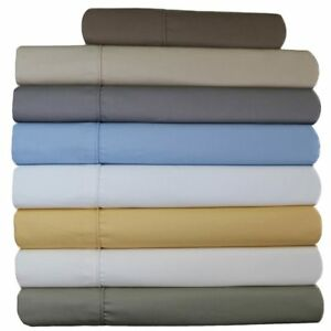 Wrinkle-Resistant 650 Thread Count Cotton Blend Sheet Set with 22' Deep Pockets