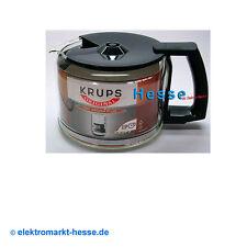 Krups Glaskrug F034.42 10-Tassen schwarz mit Deckel für Duothek, Proaroma u.a.