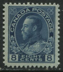 Canada 1925 KGV 8 cents blue Admiral unmounted mint NH