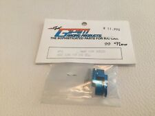 Motor Heat Sink For End Bell With Screws-1pr Set Blue  GPM Racing Products
